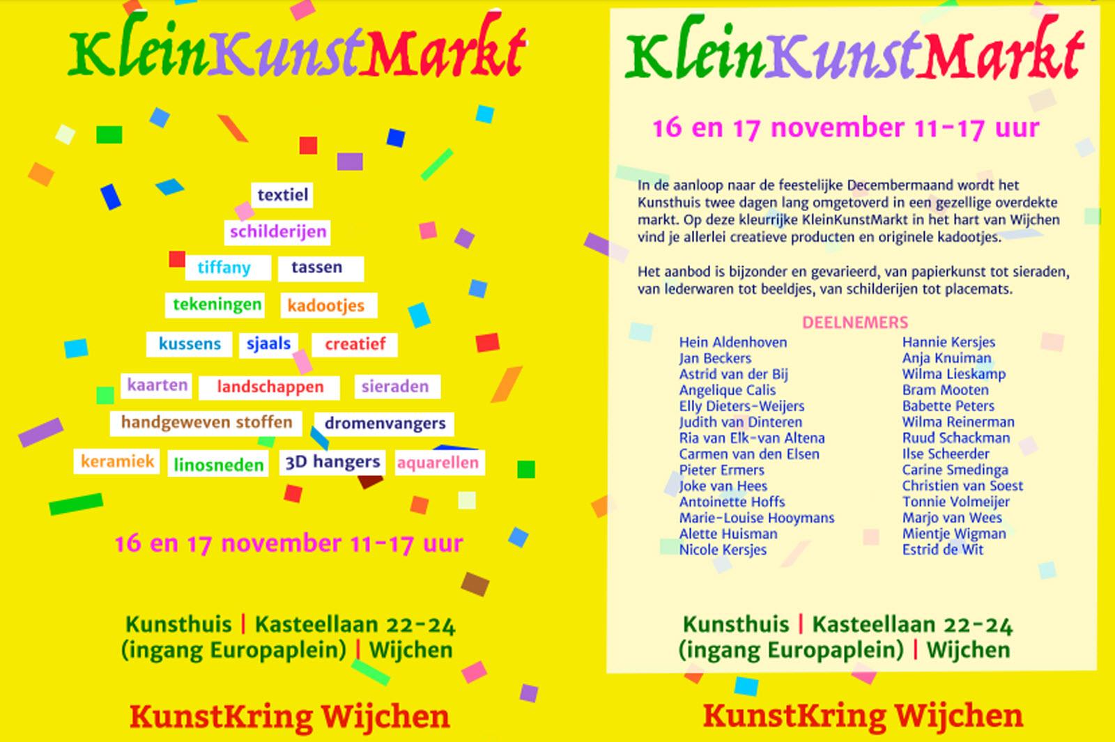 KleinKunstMarkt Wijchen