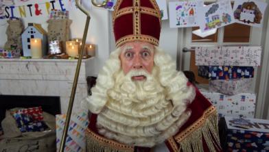 Still uit videoboodschap Sinterklaas