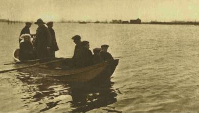 De watermassa bij Wijchen in 1926