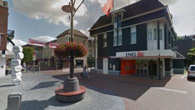 Het ING-kantoor aan de Burchtstraat in Wijchen