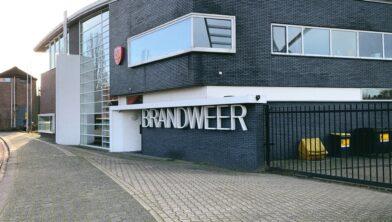 De brandweerkazerne van post Wijchen aan de Bronckhorstlaan