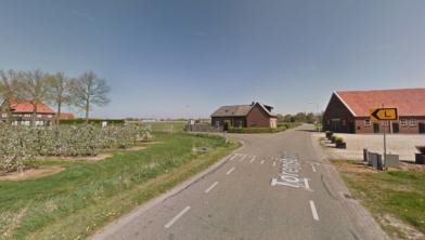 Torenstraat in Balgoij, richting Drutenseweg