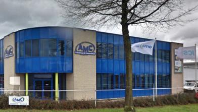 Het pand van ICS/AMC in Wijchen