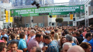 In de afgelopen 20 jaar een vertrouwd gezicht: feest bij 't Witte Paard