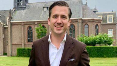 Nick Derks, lijsttrekker VVD bij de gemeenteraadsverkiezingen in 2022