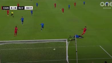 Tajon Buchanan scoort 3-0 tegen El Salvador