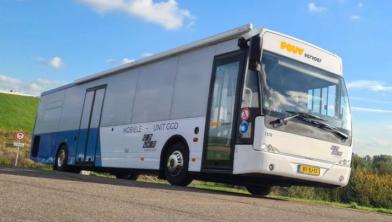 De prikbus van GGD Gelderland-Zuid