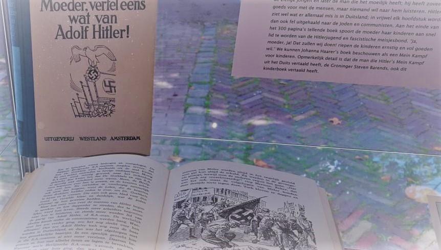 Wonderbaar Kleine maar prikkelende expositie over kinderboeken in de Tweede SA-34