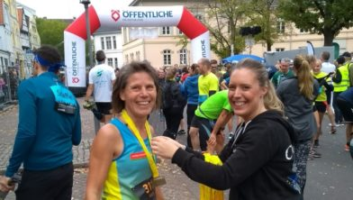 Aleida Groothoff blij met plaats 3 in Oldenburg