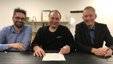 Vlnr: Niek Oost, René Bolhuis en Arjen Miedema