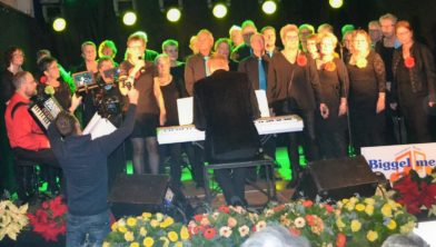 Biggel mee tijdens 'Het Slotakkoord Gemeente Winsum'
