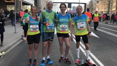 Miranda Vink, Marnix van den Brink, Elizabeth Hofman en Koos Durenkamp