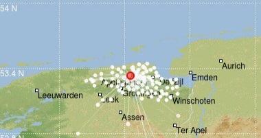 Kort nieuws aardbeving Westerwijtwerd