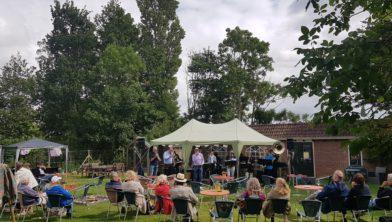 Cultuurerf Andledon in festivalsfeer