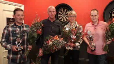 Harmjan Postmus, Johan Vonck, Gonny Houtman en Arjan Hegge