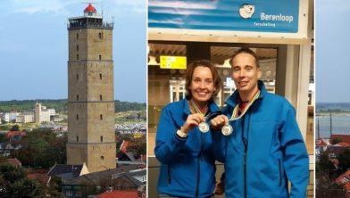 Elizabeth en Willem Hofman op Terschelling