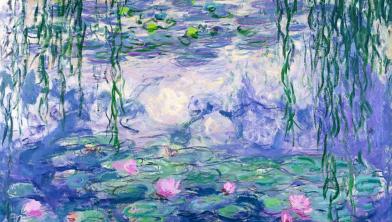 'Blauweregen' van Claude Monet