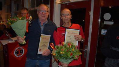 Jan Stavenga en Cor Schierbeek (r)