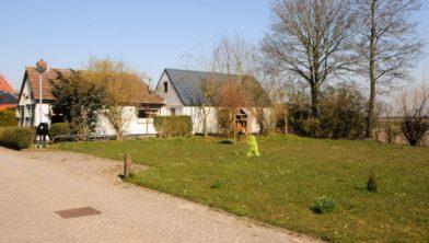 Perceel Oosternielandsterweg 41, nu een grasveldje