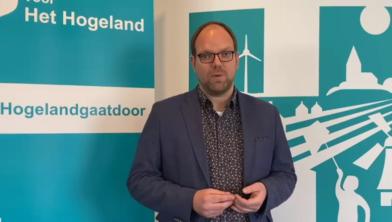 Wethouder Eltjo Dijkhuis.