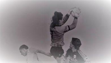 Gerald Gras heersend in de lucht