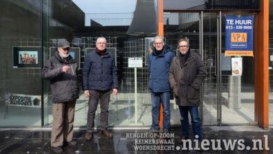 v.l.n.r. Oscar Buswijller, Jac Leenaars, Anton de Krom en Bert de Waard