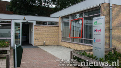 Het BWI gebouw aan de  Kromstraat 4 in Hoogerheide