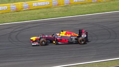 Archieftoto van Max Verstappen in een F1-bolide