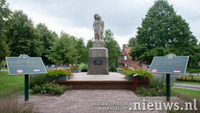 Het monument in Woensdrecht