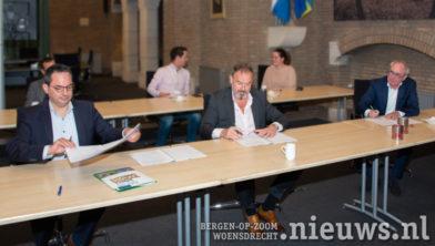 v.l.n.r. Steven Adriaansen, Stéphane Cépèro en Donald van der Veen