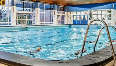 Het huidige zwembad.