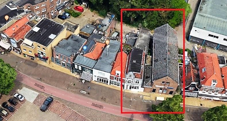 Ontwikkellocatie zuiddijk in de etalage voor for Huizenzoeker amsterdam