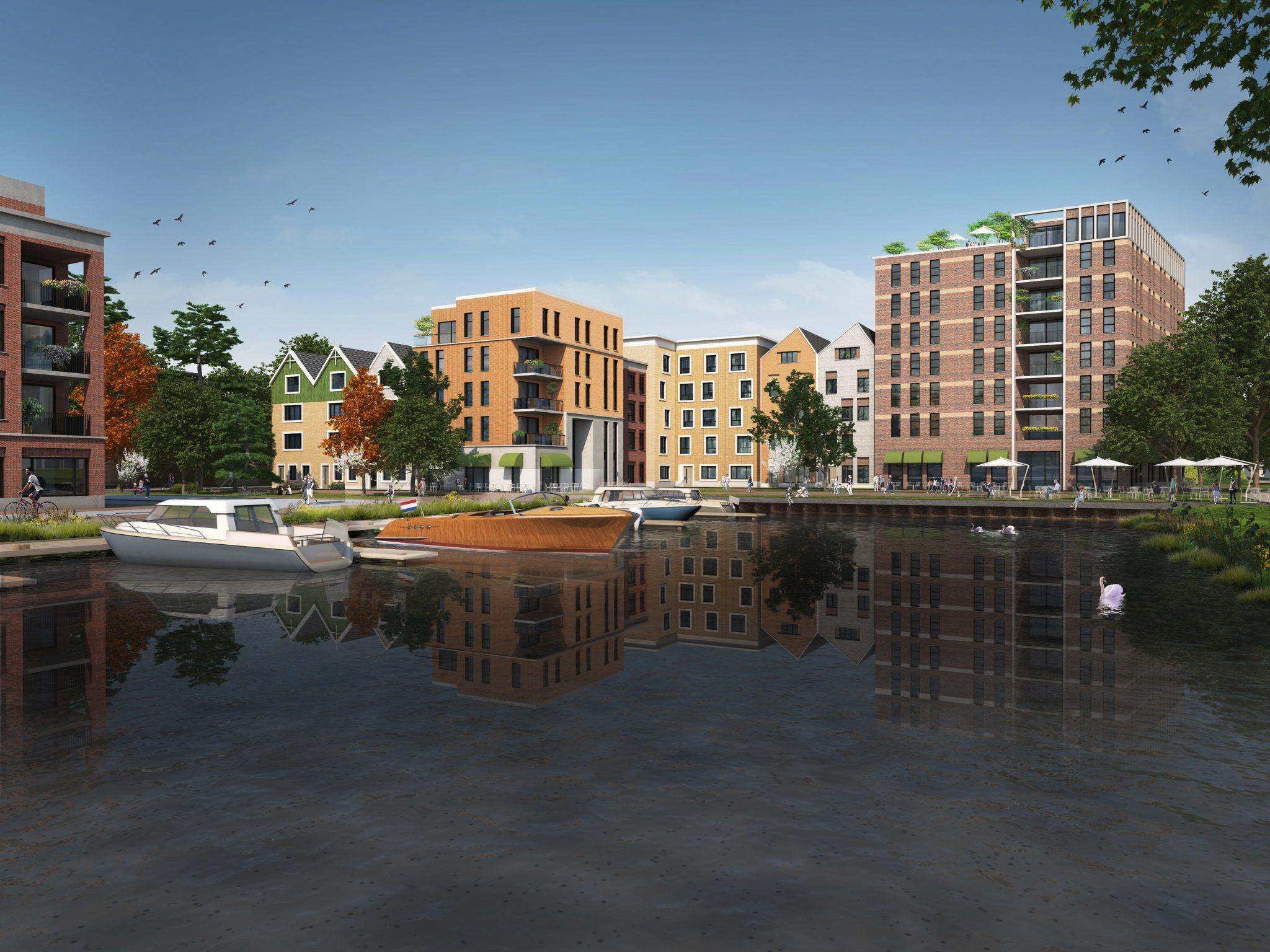 Eerste impressies van nieuwe zaandamse wijk oostzijderpark for Koophuizen den haag