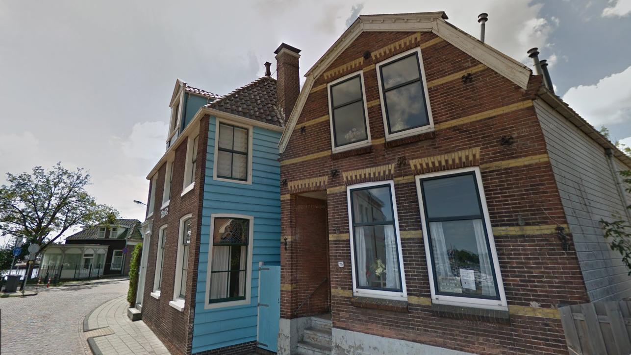 Landelijk Huis Nyc : Claude monets blauwe huis aan de hogendijk in zaandam te koop