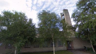 De RK-kerk uit 1964 maakt plaats voor woningen.