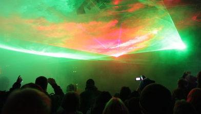 Lasershows kunnen een goed alternatief voor vuurwerk zijn.