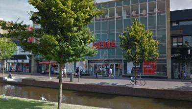 Het Hema-filiaal op de Gedempte Gracht in Zaandam.