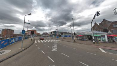 De Wilhelminabrug in Zaandam.