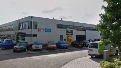 De mishandeling speelde zich af in dit bedrijf aan de Industrieweg.