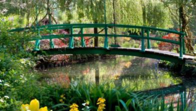 De tuin van Claude Monet anno nu.