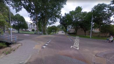 Het gevaarlijkste kruispunt van Zaanstad, volgens het onderzoek van RTL Nieuws.