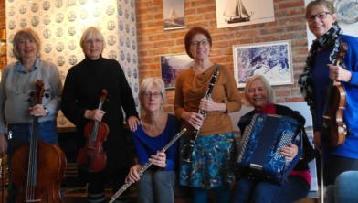 Salonorkest Sanseveria.