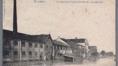 Papierfabriek Van Gelder, circa 1920.