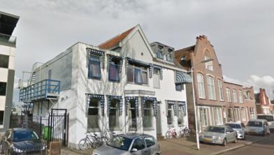 Sociaal Pension Zaanerf aan de Zaandamse Westzijde.