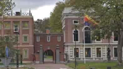 Het provinciehuis in Haarlem.
