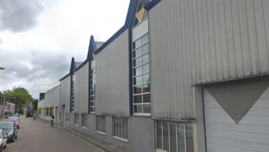 De voormalige fabriek van Hellema aan de Oostzijde in Zaandam.