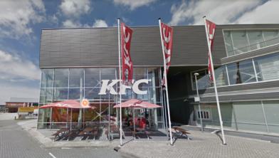Het restaurant aan de Stormhoek in Zaandam.