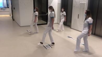 Still uit de video van het ZMC.