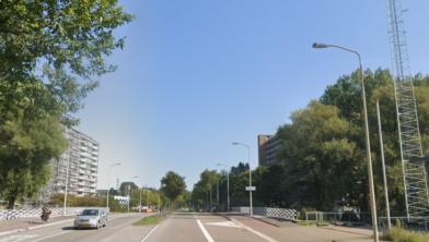 De Vermiljoenweg in Zaandam.