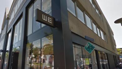 Het filiaal van WE Fashion op de Gedempte Gracht.